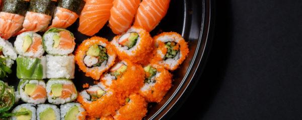 Commander des sushis